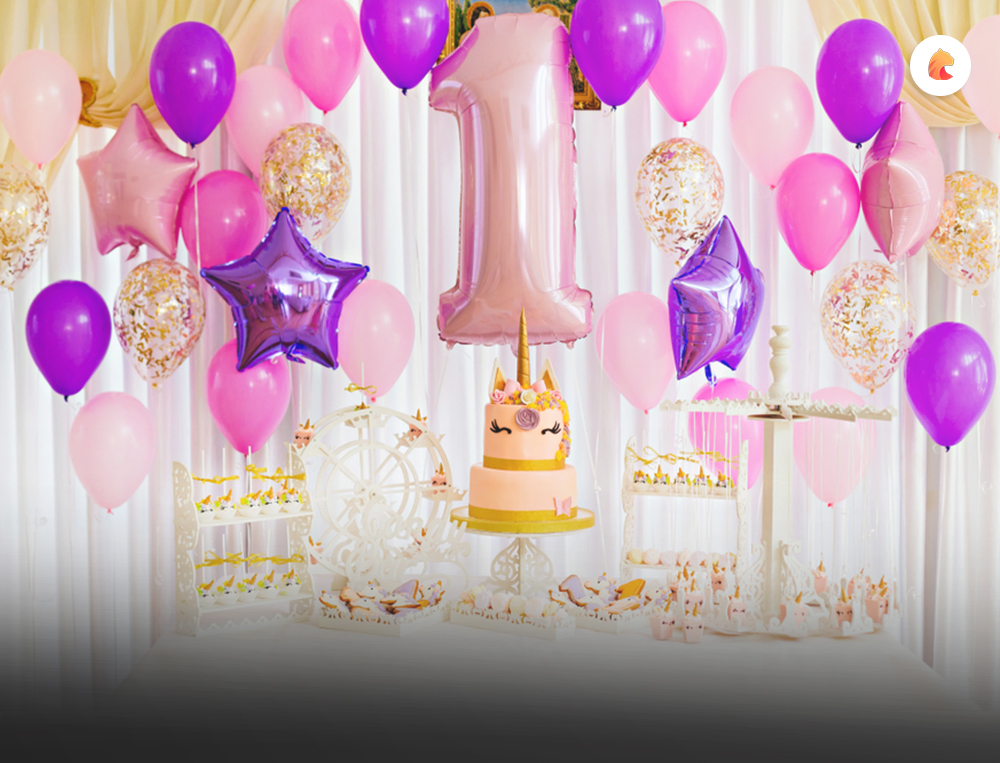 Balloons & other party decoration for rent in Dubai